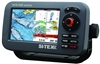 "SI-TEX SVS-560CF-E Chartplotter - 5"" Color Screen with External GPS & Navionics+ Flexible Coverage"