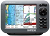 "SI-TEX SVS-880CF-E 8"" Chartplotter/Sounder with External GPS Antenna & Navionics+ Flexible Coverage Chart Card"