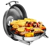 "Kuuma Gas Kettle Grill, 175"" Surface, Stainless Steel"