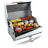 "Kuuma 216 Elite Gas Grill, 216"" Cooking Surface, Stainless Steel"