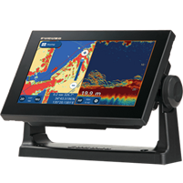"Furuno GP1971F 9"" GPS/Chartplotter/Fishfinder 50/200, 600W, 1kW, Single Channel & CHIRP"