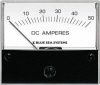 Blue Sea 8022 DC Analog Ammeter, 2-3/4 Face, 0-50Aeres DC
