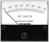 Blue Sea 8240 DC Analog Voltmeter - 2-3/4 inch Face, 18-32 Volts DC