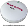Raymarine RS150 GPS Antenna, with Pole Mount Kit