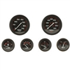 Teleflex Amega 4 Gauge Set, Tach(7000 RPM), Speedometer (65 mph), Voltmeter(12v), Fuel gauges, Water temp(120-240), Oil Pressure(80 psi), 68363P