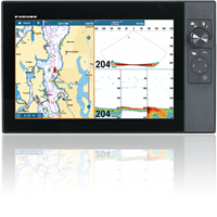 "Furuno TZT12F 12"" Hybrid-Control TZtouch3 Multi Function Display Chart Plotter/Fish Finder"