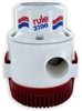 "Rule 3700 GPH Non-Automatic 1 1/2"" Discharge 12V Bilge Pump, 14A"