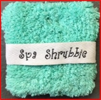 Tiffany Blue Spa Shrubbie