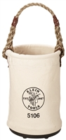 "Klein Canvas Straight-Wall Bucket 9"" x 14"" #5106"