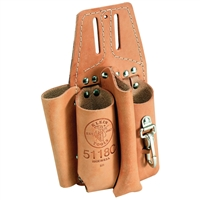 Klein Pliers, Folding Rule, Screwdriver and Wrench Holder #5118C