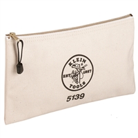 Canvas Zipper Bag #5139
