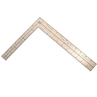 Mathey Dearman Small Framing Square (Stainless Steel) #D256