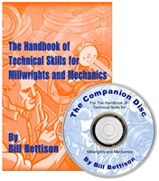 The Handbook of Technical Skills for Millwrights & Mechanics & Companion Disc  #MW2