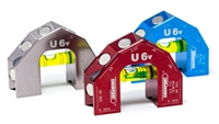 Professional U6 V Groove w/Magnets  #U6-G610