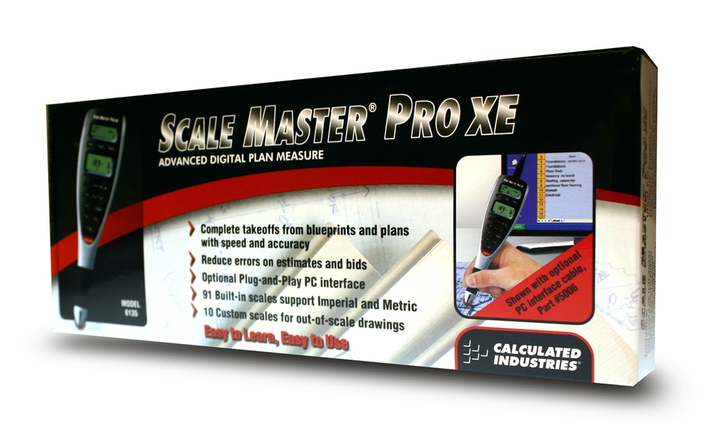 Calculated Industries 5006 Scale Master ProXE PC Interface Cable for the 6135 Scale Master ProXE