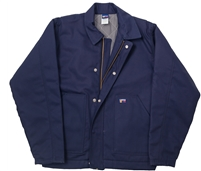 7oz Flame Resistant Insulated Jacket-NAVY #Lap-JTFRNYDK