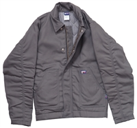 7oz Flame Resistant Insulated Jacket - Gray #Lap-JTFRGYDK