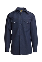 Lapco Blue Denim Twill Shirt #1000