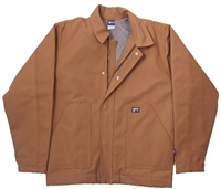 12-Oz Flame Resistant Insulated Jacket-Brown Duck #Lap-JTFRBRDK