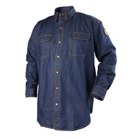 TruGuard 200 FR Cotton Denim Work Shirt #FS8-DNM