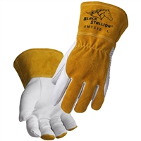 GM1510 Premium Goatskin MIG Glove with DragPatch®