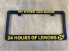 Lemons License Plate Frame