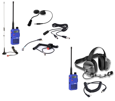 Rugged Race Radios: Driver+Crew 5-Watt (5R) Mega Kit