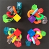 #67-1082B...Rings&Rings FT (pkg: 4 footoys)