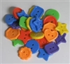Novelty Buttons pkg 100