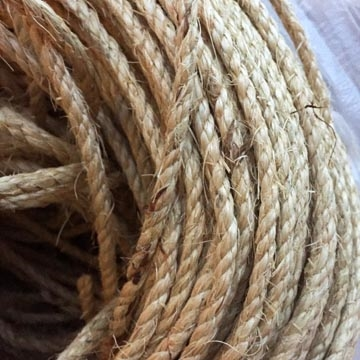 "Sisal Rope 1/4"" x 100' coil"