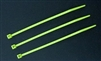 "Zip Tie 4"" Lime Green 100pkg"