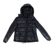 Women's Plus Size Hooded Puffer Jacket