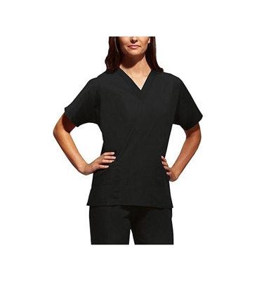 Cherokee Short Sleeve V-Neck Tunic Style Scrub Top