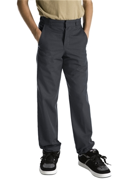 Dickies Boys Flat Front Pant Sizes 8-20 | Zemskys