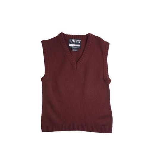 School Apparel V-Neck Pullover Sweater Vest | Zemskys