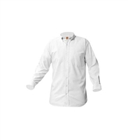 Long Sleeve White Oxford Shirt