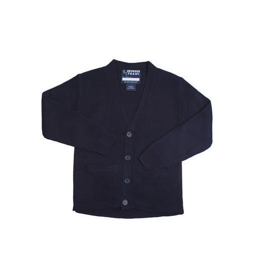 Standard /& Husky School Uniform French Toast Boys Anti-Pill V-Neck Cardigan Sweater