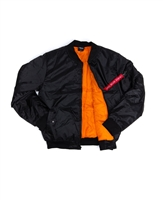 Zip Front Flight Jacket