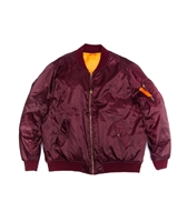 Big Man's  Zip Front Flight Jacket