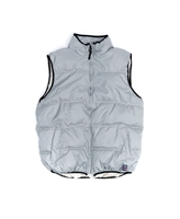 Zip Front Nylon Bubble Vest