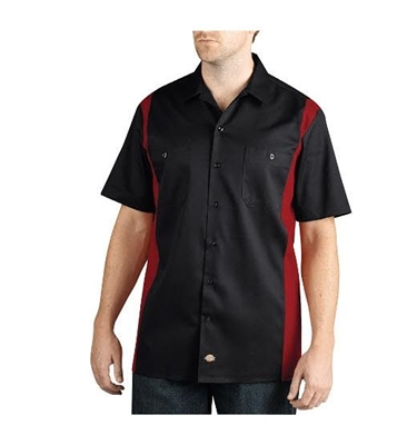 Dickies Regular Fit Short Sleeve Two-Tone Work Shirt