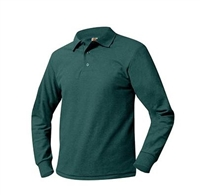 Zemskys Kids Long Sleeve Polo Shirt