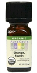 Aura Cacia Sweet Orange Essential Oil (0.25 Oz)