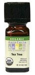 Aura Cacia Tea Tree Essential Oil (0.25 Oz)