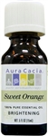 Aura Cacia Sweet Orange Essential Oil (0.5 oz)