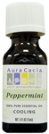 Aura Cacia Peppermint Essential Oil (0.5 oz)