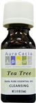 Aura Cacia Tea Tree Essential Oil (0.5 oz)