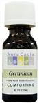 Aura Cacia Geranium Essential Oil (0.5 oz)