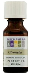 Aura Cacia Citronella Java-Type Essential Oil (0.5 oz)