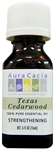 Aura Cacia Texas Cedarwood Essential Oil (0.5 oz)